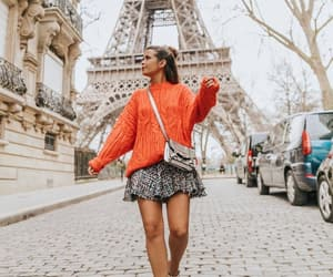 blogger, street style, and tour eiffel image