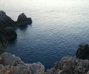 cliff, holidays, and menorca image