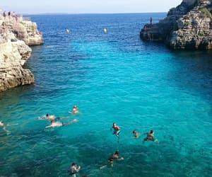beach, summer, and holidays image