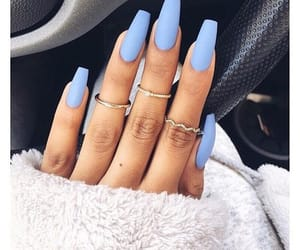 babe, rings, and blue image