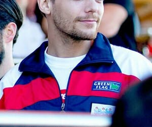 blueeyes, football, and louistomlinson image