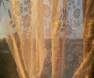 aesthetic, beautiful, and curtains image