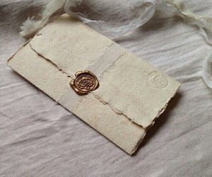 carta, letters, and parchment image