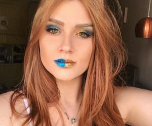 beauty, brasileira, and green eyes image