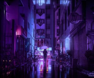 purple, aesthetic, and color image