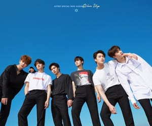 blue sky, kpop, and rise up image