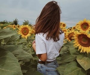 aesthetic, girl, and hippie image