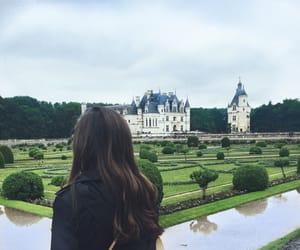 brunette, flood, and france image
