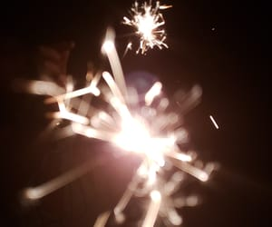 4th of july, sparklers, and sparks image