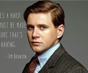 downton, branson, and tom branson image