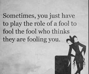 fool and quote image
