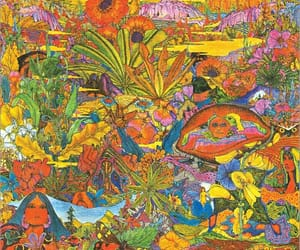 art, hippie, and psychedelics image