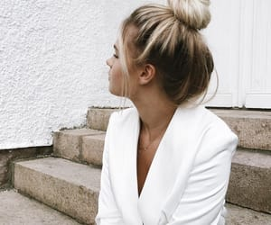 beautiful, hair, and people image