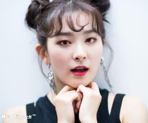 eyes, hair, and kang seulgi image