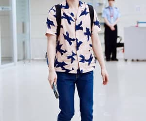 airport, babe, and blue image