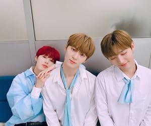 wanna one, jisung, and minhyun image