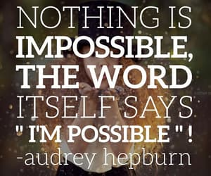 audrey hepburn, impossible, and world image