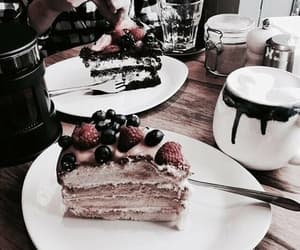 breakfast, morning, and cake image