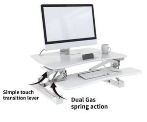 adjustable stand up desk image