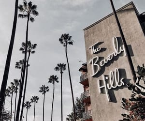 summer, Beverly Hills, and travel image