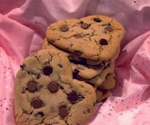 chocolate, Cookies, and hearts image