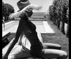 fashion, inspo, and poolside image
