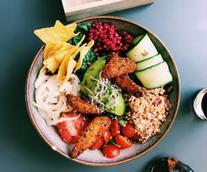bowl, delicious, and tortilla image