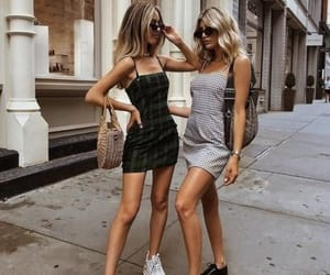 clothes, girls, and street image