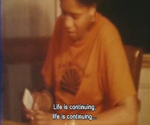 blurry, life, and sad image