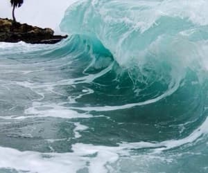 aqua, beauty, and sea image