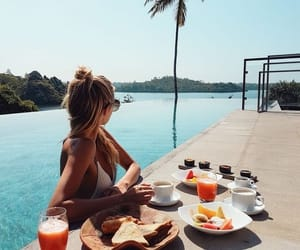 food, summer, and girl image