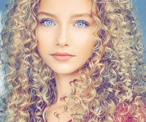 beauty, blonde, and blue eyes image