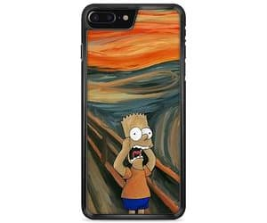 bart, scream, and iphone case image