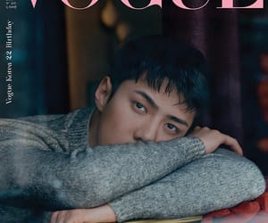 Chen, vogue, and exo image