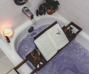 bath, ig:brxwnin_, and books image
