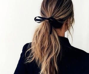 aesthetic, beautiful, and pony tail image