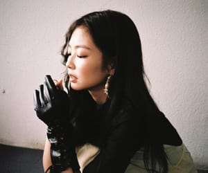 korean, jennie kim, and kpop image
