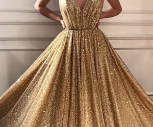 beautiful, dress, and long image