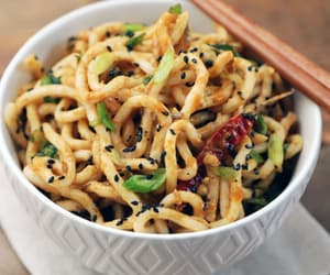 chinese, delicious, and udon image