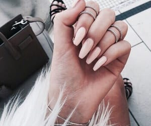 acrylic, aesthetic, and long nails image