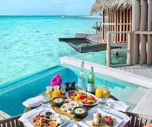 holiday, meal, and relax image