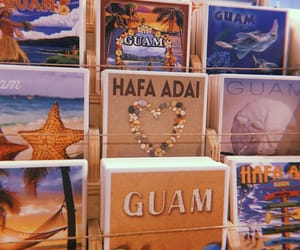guam, vibes, and vacation image