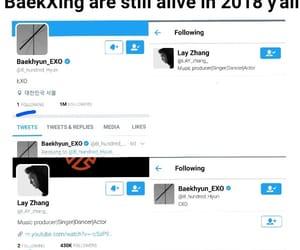 exo, kpop, and kpop meme image