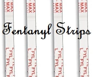 fentanyl strips and fentanyl test strips image