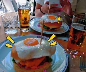 beer, brunch, and cartoon image