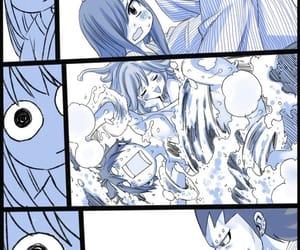 anime, couple, and gray image