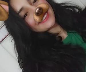 girl, smile, and snapchat image