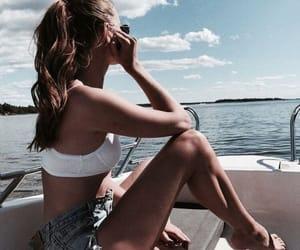 bikini, girl, and summer time image