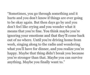cry, hurt, and sadness image