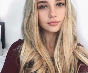 beautiful, girl, and no makeup image